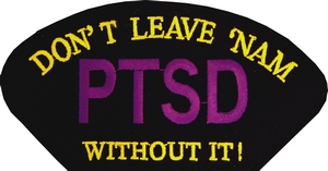 PTSD Don't Leave Nam Without It Patches