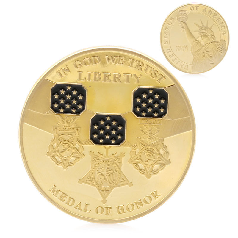 Medal of Honor Challenge Coins