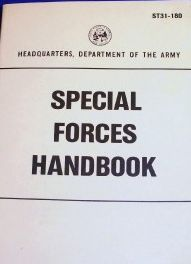 Special Forces Handbook Military Manuals