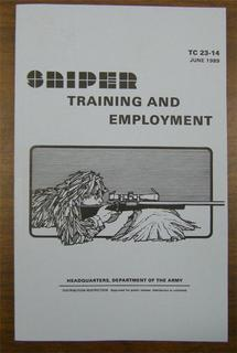 Sniper Training & Employment Miitary Manuals