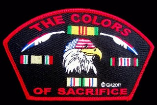 The Colors Of Sacrifice Patches