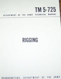Rigging Military Manuals