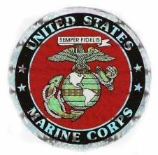 Holographic Military Decals US Marine Corps