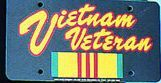 Vietnam Veteran License Plates