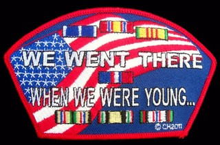 We Went There When We Were Young Patches