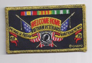Welcome Home Vietnam Veterans Patches